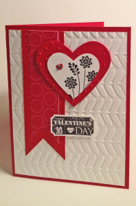 Just the Ticket Valentine's Day Card